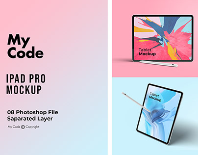 Stylish iPad Mockup
