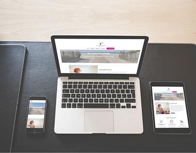 Diseño y desarrollo web de Tania Psicóloga