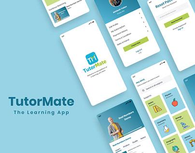 Tutormate E-learning App