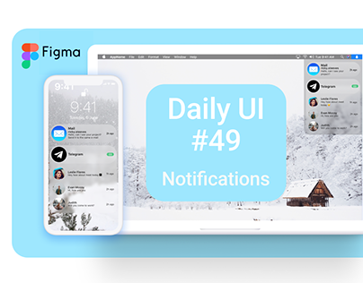 Daily UI #49 Notifications