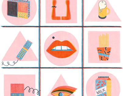 · prints ·
