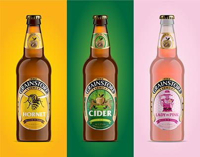 The Grainstore Brewery   Cider Range