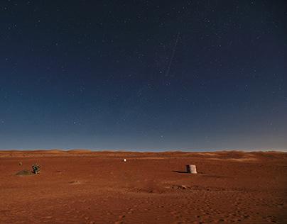 Night in Ash Sharqiyah desert