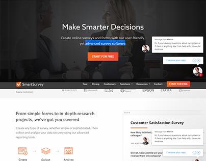 Smart Survey Make Smarter Decisions Advanced survey web