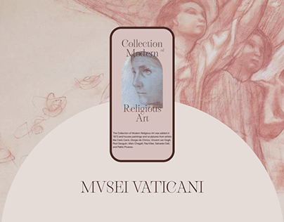 Musei Vaticani - website redesign