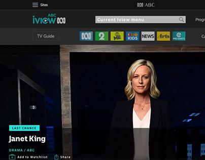 ABC iView Responsive Website
