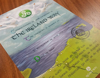 The Ireland Way, Certificate and Stamp design