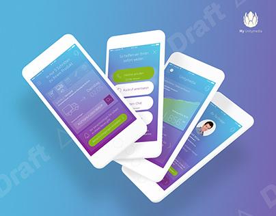 Unitymedia – Service App (conceptual approach)
