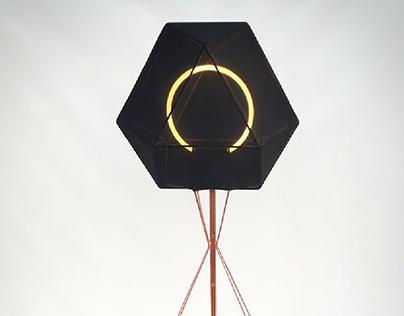 Hexalight stand lamp