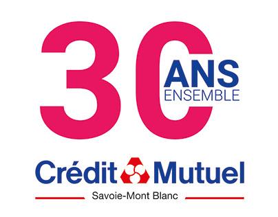 30ans Crédit Mutuel Savoie Mont-Blanc