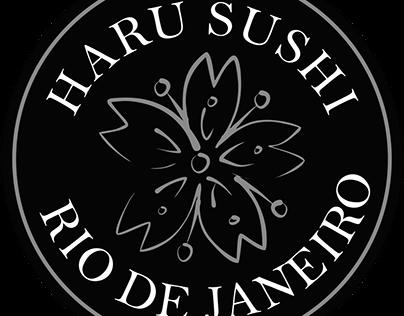 Job Feito para o Restaurante Japônes Haru Sushi