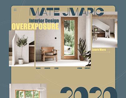 Web-Design for interior Studio