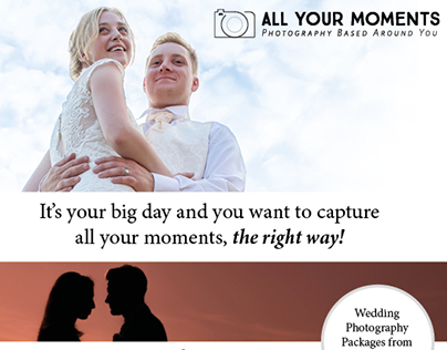 All Your Moments - Flyer 2016