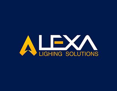 Alexa Lighting Solution_ LOGO DESIGN