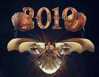 Steampunk Poster Design