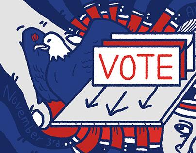 Vote illustration Series