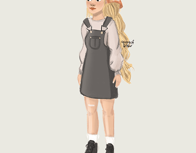 Karakter tasarımı kız