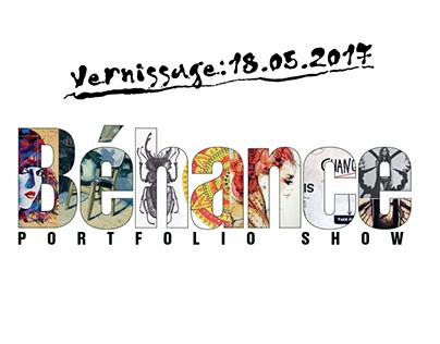 Béhance Portfolio show Vernissage