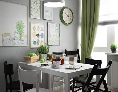 IKEA style. Kitchen