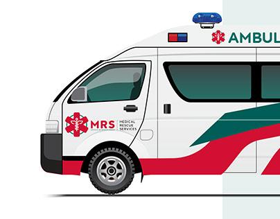 Medical Rescue Services - Mozambique logo & Identity