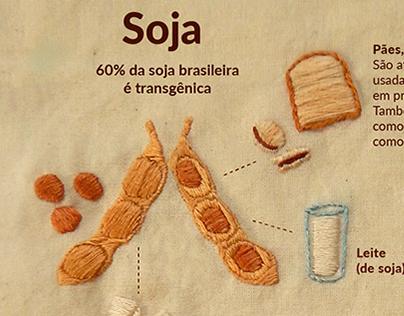 Infográfico Bordado