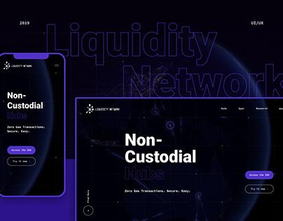 Liquidity Network Redesign Main Website