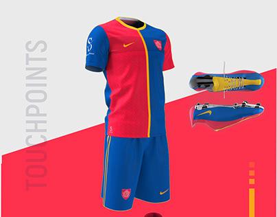 Sporting Club Branding Identity Design.