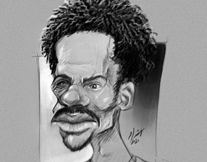 Caricature study.. Henry