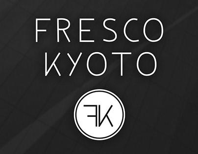 Fresco Kyoto Logo Design Concept