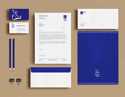Visual identity for city Svätý Jur