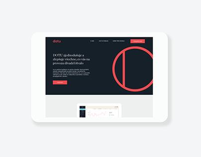 Dotu – UI & print materials