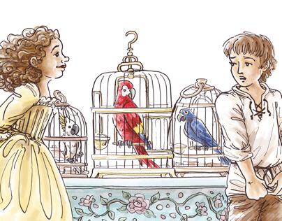 Het Raadsel van de Papegaaien [The Parrots' Mystery]
