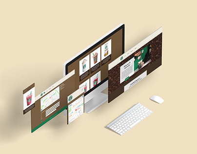 Responsive Web Design: Starbucks Coffee