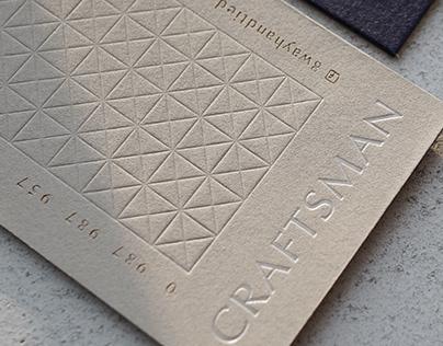 Craftsman Art Sofa Business card 奎斯門藝術沙發 |名片設計