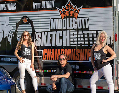 Sketchbattle Trailer Wrap