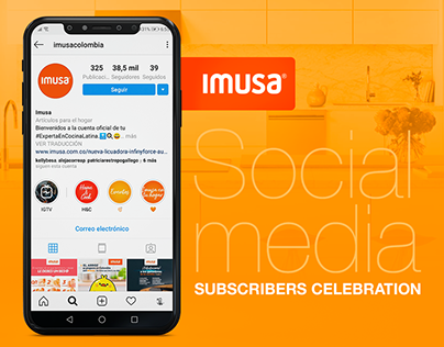 Imusa - Subscribers Celebration