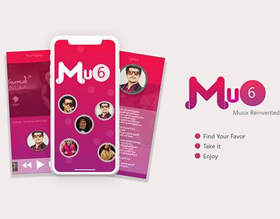 MU6 - SL music app