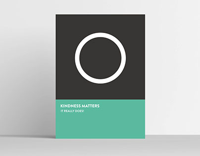 Posters for Kindness Matters Exhibition