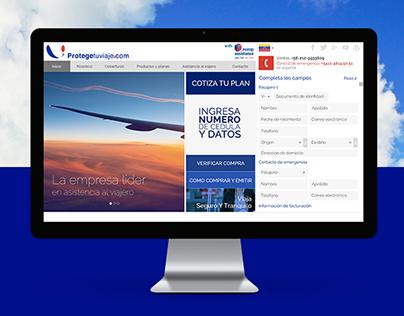 Web | Protege Tu Viaje