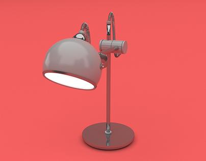 Modelagem 3D - Luminária