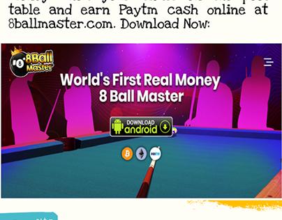 8 ball pool earn paytm cash