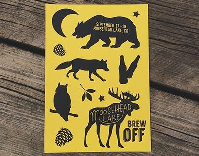 Short Term Identity Design: Moosehead Lake Brew Off