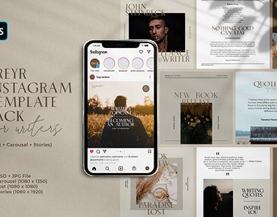 FREYR - Instagram Template Pack