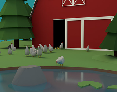 Low Poly Modelling