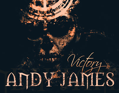 "ANDY JAMES ""Victory"" single artwork"