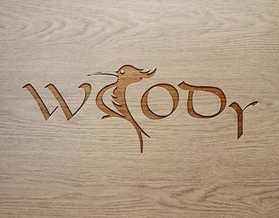 логотип для компании по резке дерева