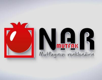 Nar Mutfak Logo Tasarım