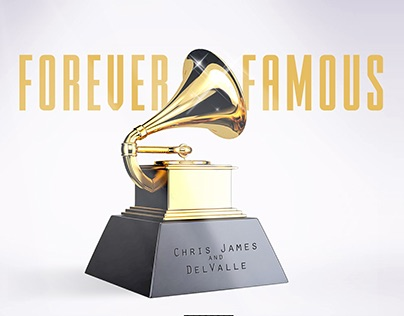 Forever Famous EP Cover Design