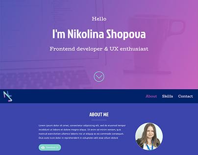 Nikolina Shopova on Behance