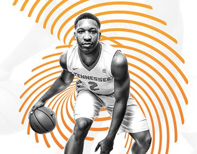 Tennessee Men's Basketball // Poster Design